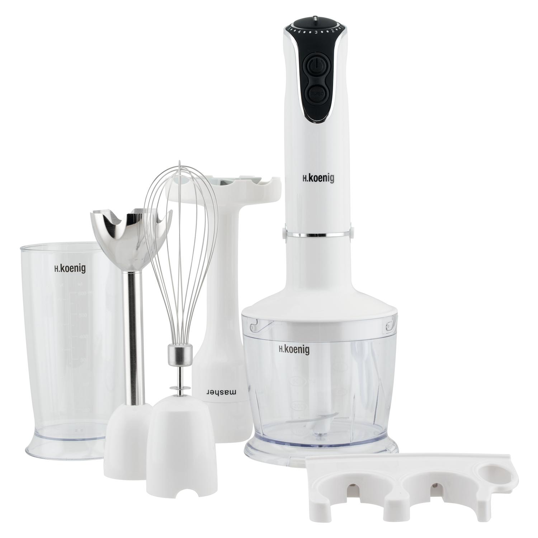 mix75 robot plongeant blanc 4 en 1 750w mixeur hachoir. Black Bedroom Furniture Sets. Home Design Ideas