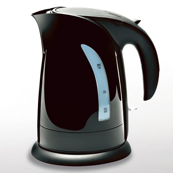 bouilloire sans fil electrique 2200w 1 8 litres winkel sw8 noir. Black Bedroom Furniture Sets. Home Design Ideas
